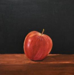 E_Warren_Lopsided_apple_12x12_oil_on_wood